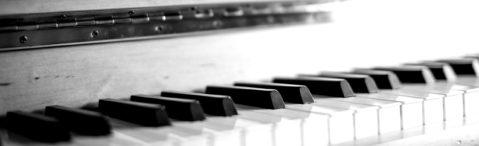 Klavier - Detailaufnahme